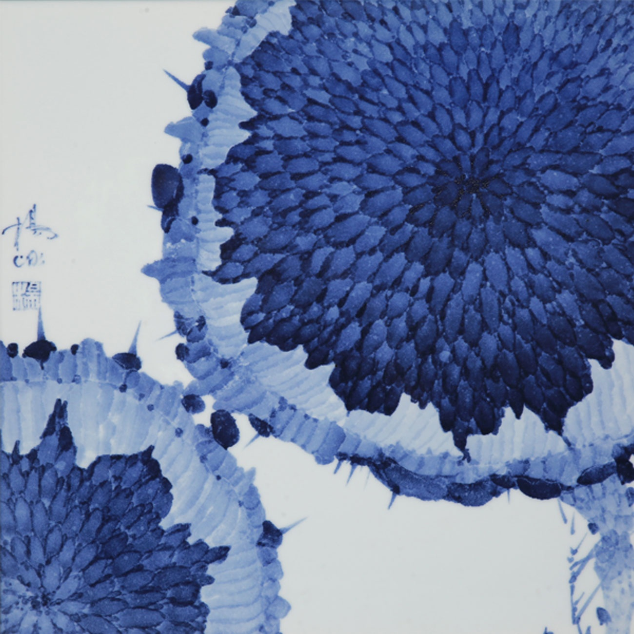 Yang Bing: blue and white porcelain blooming through the essence