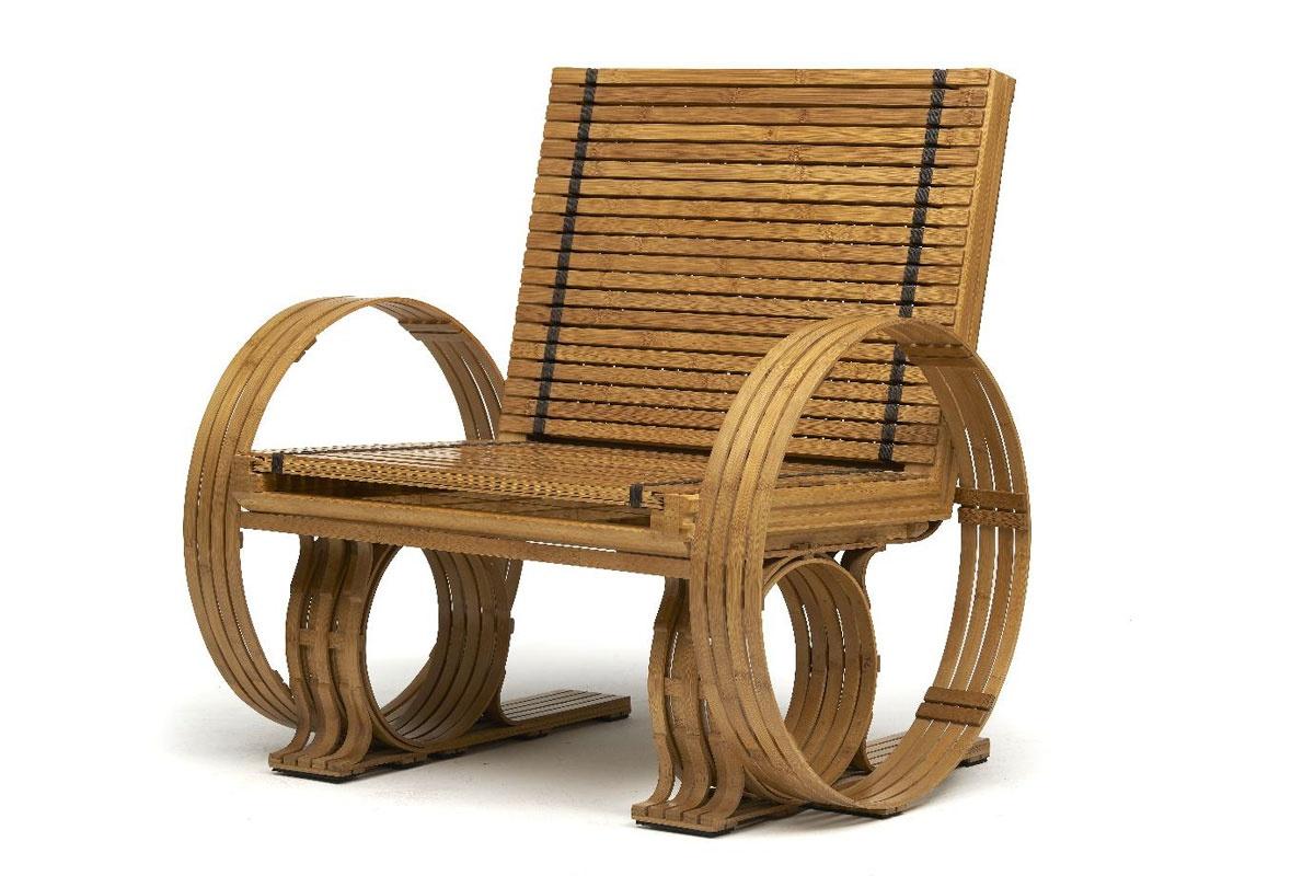 Jeff Dayu Shi The Bamboo Furniture